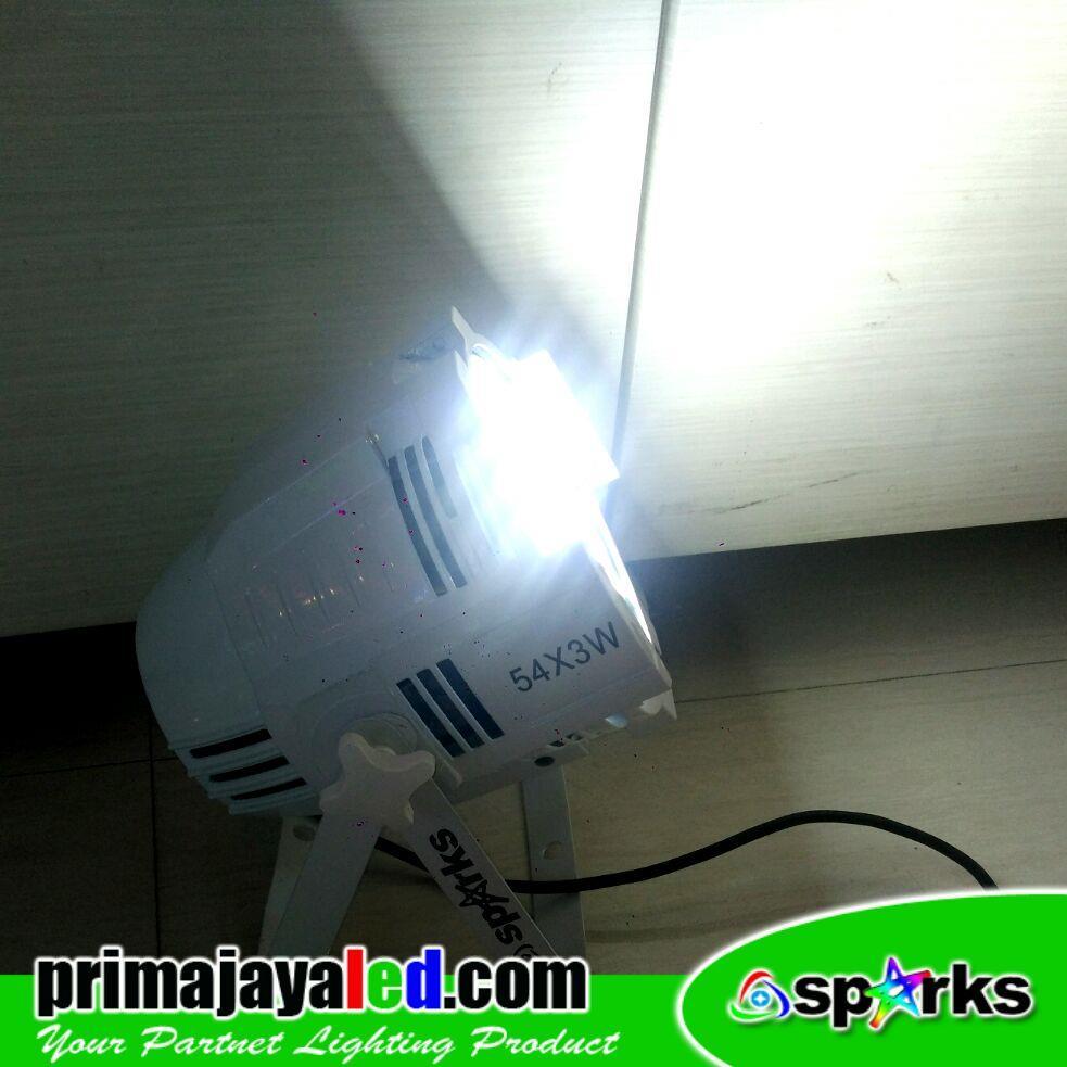 Jual Lampu Par LED 54 Cahaya Putih Harga Murah Jakarta