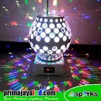 Jual Lampu Hias Magic Disco Ball Laser LED 2