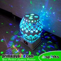 Lampu Hias Magic Disco Ball Laser LED 1
