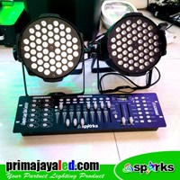 Lampu PAR Paket Simple Mixer Murah 5