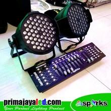 Lampu PAR Paket Simple Mixer