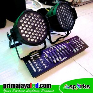Lampu PAR Paket Simple Mixer