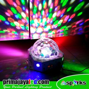 Lampu LED Bola Disco Remote 36 Watt