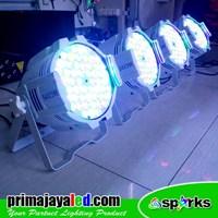 Jual Lampu Par LED Paket Medium Body Putih 2