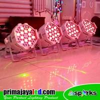 Distributor Lampu Par LED Paket Medium Body Putih 3