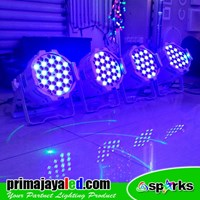 Lampu Par LED Paket Medium Body Putih Murah 5