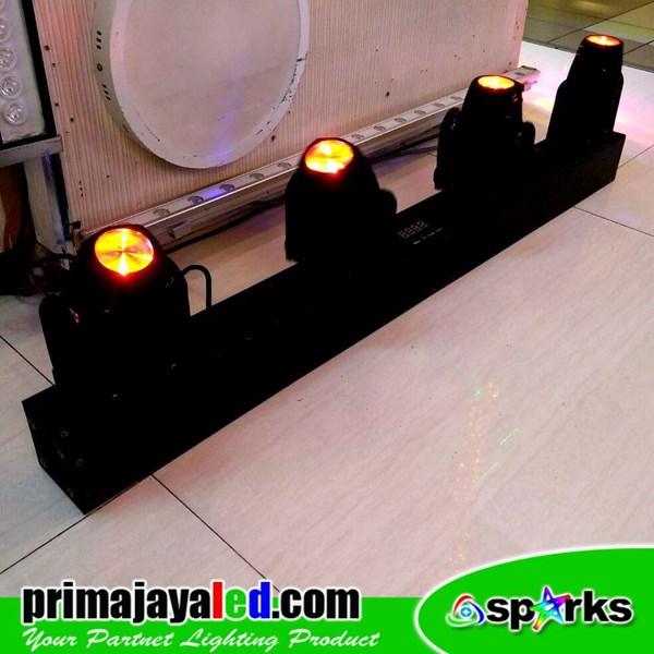 Lampu Moving Head LED Moving Mini Bar 4 Head