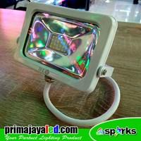 Lampu Spotlight Tembak 10W Body Putih 1