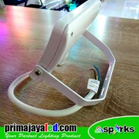 Distributor Lampu Spotlight Tembak 10W Body Putih 3