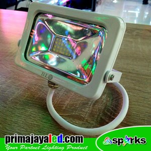 Lampu Spotlight Tembak 10W Body Putih