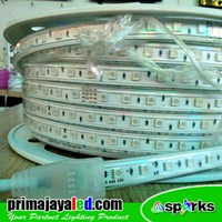 Lampu LED Flexible Strip RGB IP65 Outdoor Murah 5