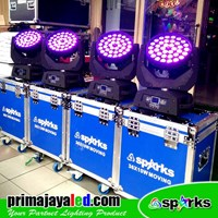 Distributor Lampu PAR Moving LED 36 X 10w Zoom FullColor 3