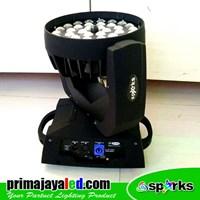 Lampu PAR Moving LED 36 X 10w Zoom FullColor Murah 5
