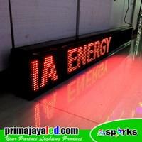 Lampu LED Running 197 X 21 Cm Merah Murah 5