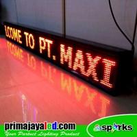 Jual Lampu LED Running 197 X 21 Cm Merah 2