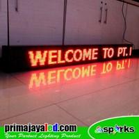 Distributor Lampu LED Running 197 X 21 Cm Merah 3