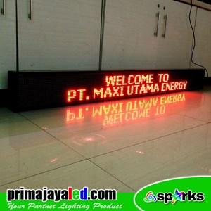 Lampu LED Running 197 X 21 Cm Merah