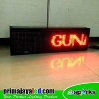 Jual Lampu LED Running 69 X 21 Cm Merah 2