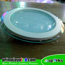 Lampu Downlight LED List Kaca 18 Watt