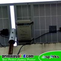 Jual Lampu LED PJU Set Solar Panel 50 Watt 2