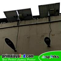 Lampu LED PJU Set Solar Panel 50 Watt Murah 5