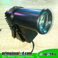 Distributor Lampu LED Pin Spot 10 Watt DMX 512 3