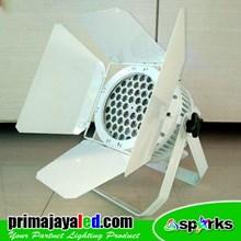 Lampu PAR Freshnel LED 54 Outdoor Body Putih