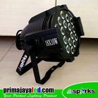 Jual Lampu Par LED 18 X 10 W Spesial Warm White 2