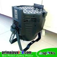 Distributor Lampu Par LED 18 X 10 W Spesial Warm White 3