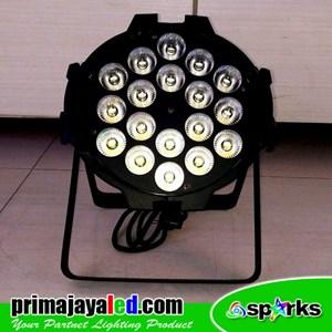 Lampu Par LED 18 X 10 W Spesial Warm White