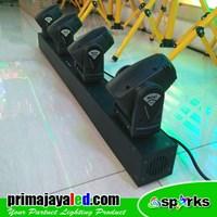 Distributor Lampu LED Moving Mini Bar 4 X 10 Watt 3