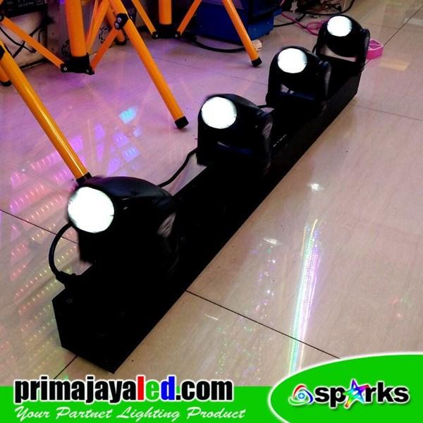 Lampu LED Moving Mini Bar 4 X 10 Watt