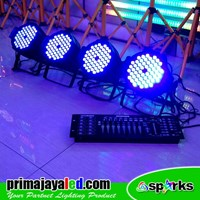 Beli Lampu PAR Paket Set Par 54 LED 3in1 DMX 512 4