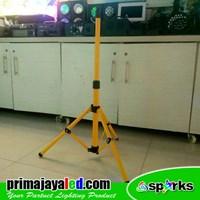 Aksesoris Pencahayaan Yellow Standing Tripod 1