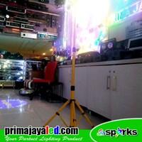 Distributor Aksesoris Pencahayaan Yellow Standing Tripod 3