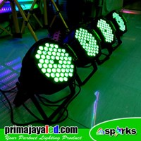 Lampu PAR LED Paket 54 Set 4 3in1 RGB 1