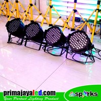 Lampu PAR LED Paket 54 Set 4 3in1 RGB Murah 5