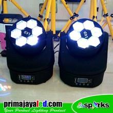 Lampu Moving Head LED Bee Eye Set Double