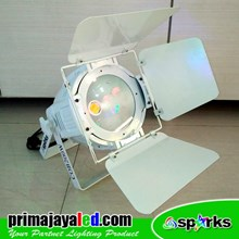 Lampu PAR Feshnel LED 200W 3in1 Color Body Putih
