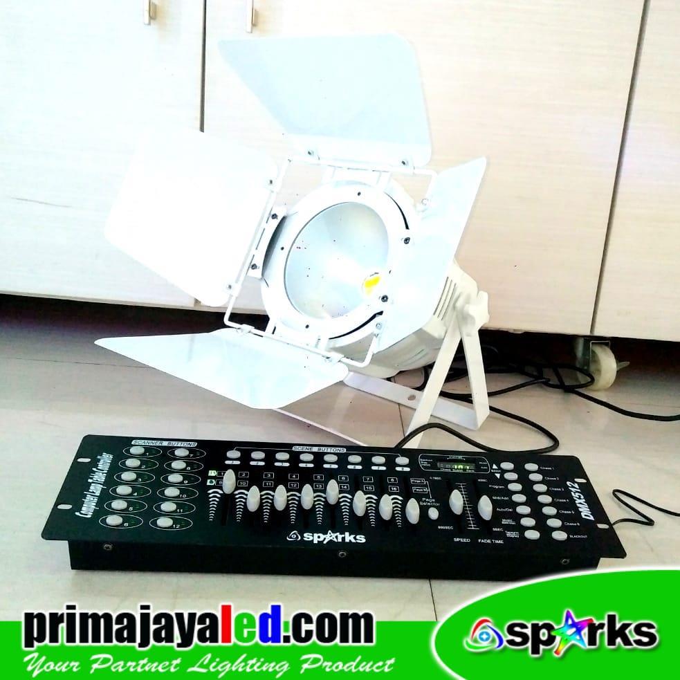 Jual Lampu PAR Fresnel LED 200w Set DMX 512 Harga Murah