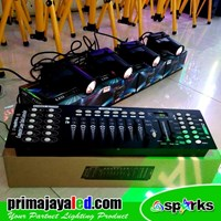 Lampu LED Paket 4 Pin Spot DMX 512 Mixer