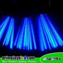 Lampu LED Set Meteor LED 50cm Biru