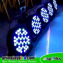 Lampu PAR Paket Set 5 Par 54 Slim RGBW 1 Watt