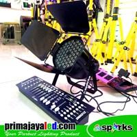 Jual Lampu PAR Set Freshnel LED 54 DMX 512