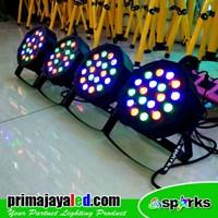 Jual Lampu PAR Paket Mini Par LED 18 Set 4