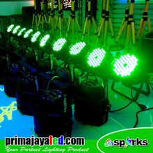Lampu PAR Paket Set 10 Par LED 54 3in1 RGB