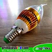 Bohlam LED Candel Cabe Fitting E14 Ulir
