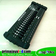 Aksesoris Lampu Panggung DMX 512 Mixer 384 Spark