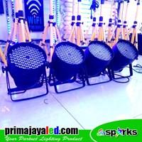 Lampu PAR Paket Set 4 Par LED 84 X 3w RGBW