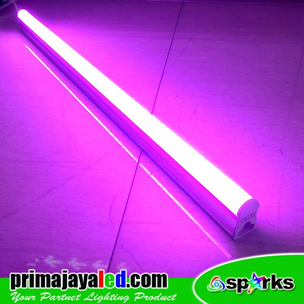 Jual Lampu TL Neon T5 LED Pink 30cm Harga Murah Jakarta